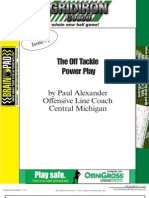 EPlay - Off Tackle Power Play by Paul Alexander