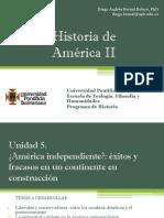 Unidad 5 América Independiente (Avance)