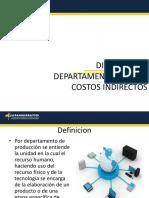 Departamentalizacion de Los Costos