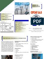 Centro de Formación y Capacitación CEFCAE - Curso Electricidad Residencial Automatizada