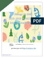 Biology 5090 OL P1 MCQ 2015-2019 All Vs.pdf