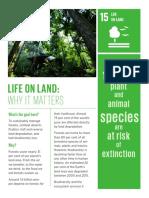 sustainability development goal life on land