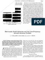 Electrically Small Antennas and the Low-frequency Aircraft Antenna Problem-lzo