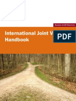 International Joint Ventures Handbook 2008