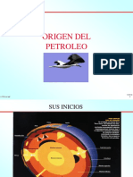 Exposición Del Origen Del Petroleo