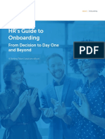 HR´s Guide to Onboarding