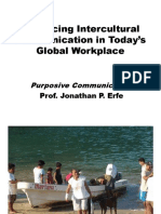 Enhancing Intercultural Communication in Todays Global Workplace