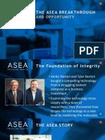 asea official presentation
