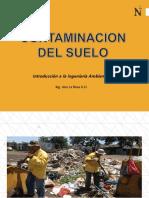 Contaminación del suelo UPN.
