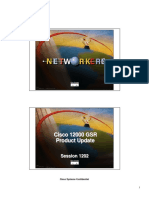 Cisco - GSR Product Update 1202
