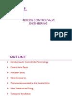 Process Control Valve Engineering