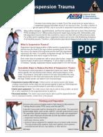 ARTBA Fall Fact Sheet Suspension Trauma