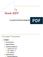 L7a - Stack ADT