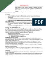 Additional Notes Fringe Benefit Tax