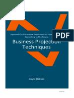 Business Projection Technique