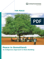 Peace in Somaliland an Indigenous Approach to State Building (1)