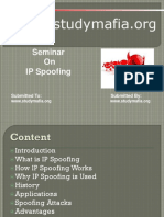 CSE IP Spoofing Ppt