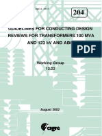204 Guidelines for Conducting Design Reviews for Transformers