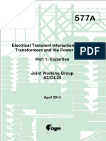 577A Electrical Transient Interaction Between Transformers and the Power System PART 1