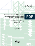 577B Electrical Transient Interaction Between Transformers and the Power System PART 2
