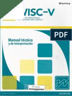 WISC-V Manual Técnico y de Interpretación