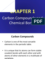 (1) Carbon Compounds and Chemical Bonds Chm457