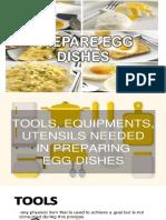 Prepare Egg Dishes