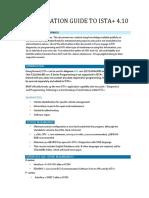 ISTA+ Installation Guide v4.10
