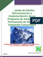Propuesta  de Diseño, Estructuración e Implementación de un Programa de Asistencia Permanente de Gestión Ambiental Comunitaria