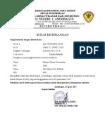 Surat Pernyataan LKIR