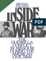 Epdf.pub Inside War the Guerrilla Conflict in Missouri Duri
