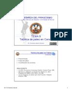T9 Tecnica Canoa