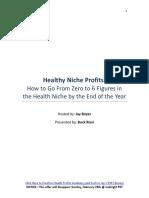 Health Niche Profits