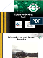 Defensive Driving Part 1