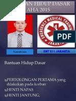 BHD Resusitasi Jantung Paru AHA 2015.pptx