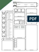 Character Sheet (Rhaegun)