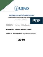 Comercio Internacional - CERTIFICACIONES