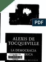 Tocqueville - La Democracia en America