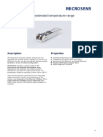SFP-Transceiver for Extended Temperature Range