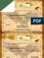 Modelo de Certificados