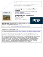 GLIESSMAN Agroecology and Food System Transformation Editorial