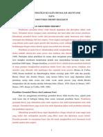 metode penelitian kualitatif sap 6