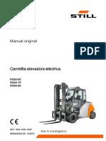 Manual Transpaleta Electrica