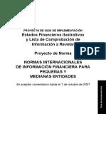 Deloitte - PROYECTO GUIA DE IMPLEMENTACION NIIF PARA PYME.pdf
