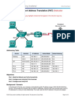 9 2 3 7 Lab ConfiguringPortAddressTranslation