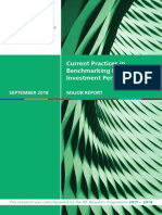 Current Practices in Benchmarking Real Estate Investment Perfomance (September 2018) Full Report