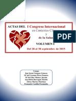Actas i Congreso Internacional en Contextos Clinico y de La Salud Vol1