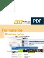 Formulario Donaciones Online