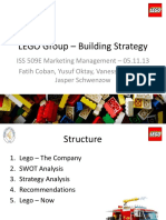 LEGO Group – Building Strategy