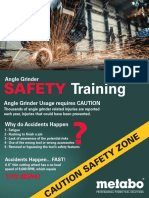 Safety Training Brochure Metabo
